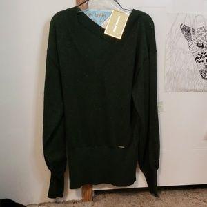 Michael Kors Green Giftable Sweater